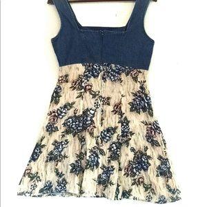 Vintage Dresses - 90s All That Jazz Floral Mini Dress